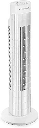 TROTEC Turmventilator TVE 30 T Tower-Ventilator Autom. 60°-Oszillation 3 Geschwindigskeitsstufen 45 W Leistung