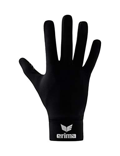 Erima Erwachsene Functional Feldspielerhandschuh, schwarz, 11