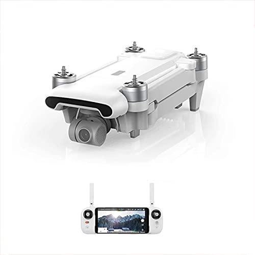 DCLINA Quadcopter Drone Kit 8km Alcance Cámara 4K UHD 100Mbp HDR Video 35mins Tiempo Vuelo UAV GPS FlyCam Quadcopter Tracking Smart 2 * Batería