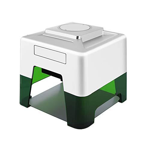 Stampante Portatile Per Incisione Laser, Mini Incisione Laser Da Tavolo Stampante Per Marchi Con Logo Fai-da-te, Stampante Per Incisore Per Il Fai Da Te Design Del Logo Artigianato (EU-Plug)