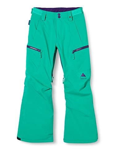 Burton Elite Cargo Pantalon de Snowboard, Niñas, Dynasty Green, M