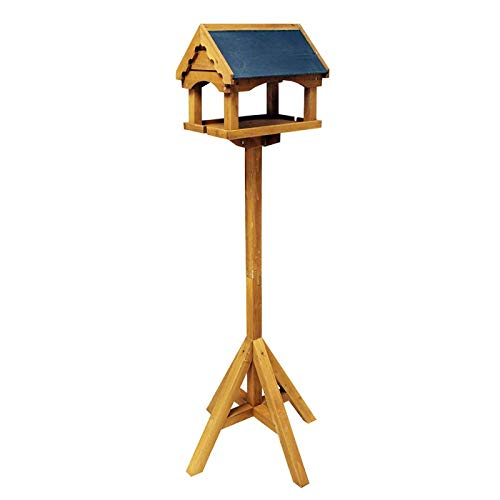 Unibos Square Bird Table Made From 100% Certified Eco Friendly Fsc Wood