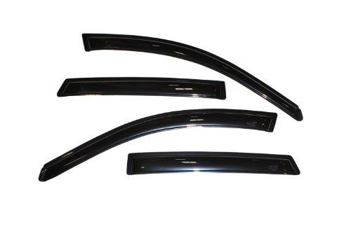 Auto Ventshade 94455 Original Ventvisor Side Window Deflector Dark Smoke, 4-Piece Set for 2003-2008 Pontiac Vibe/Toyota Matrix