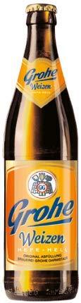 Grohe Weizen Hefe-Hell 18 Flaschen x0,5l