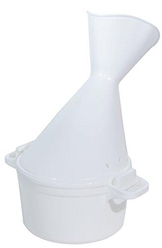 Pflegehome24® Inhalator 2-teilig, groß für Gesichtssauna bei Erkältung