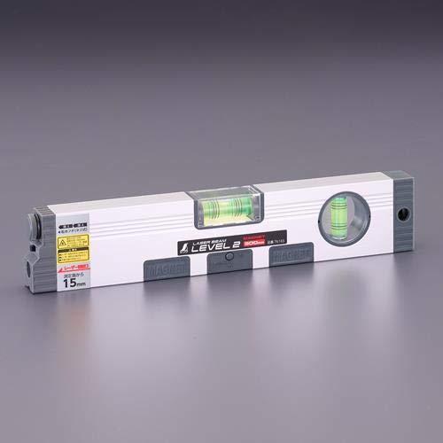 エスコ レーザーレベル(マグネット付) 450�o EA721KB-2