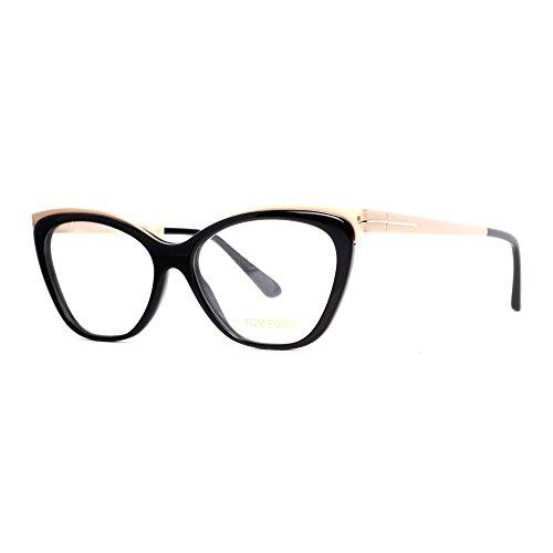 TOM FORD Eyeglasses FT5374 001 Shiny Black