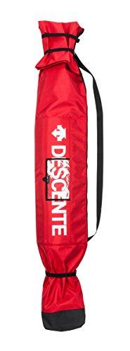 DESCENTE(デサント)キッズ ジュニア 子供用 スキーケース スキーバッグ ブラック DBG-7S100J REDレッド F