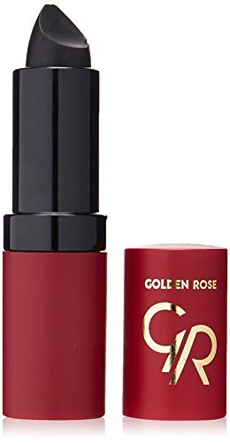 Golden Rose Velvet Matte Lippenstift, 33 schwarz