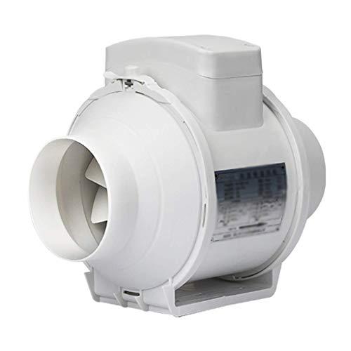 GAXQFEI Ventilador de Escape, Controlador de Velocidad Del Ventilador Del Conducto en Línea para Ventilación de la Tubería Del Tubería Del Tubo Del Extractor Del Extractor de la Presurización Del Flu