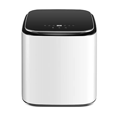 Tragbare Waschmaschine und Trocknermaschine, 90 ° C Hochtemperaturkochen und Waschen / DD-Direktantrieb Frequenzumwandlung, 220V Hochtemperaturkochen, Waschen und Trocknen des Desktops Waschmaschine