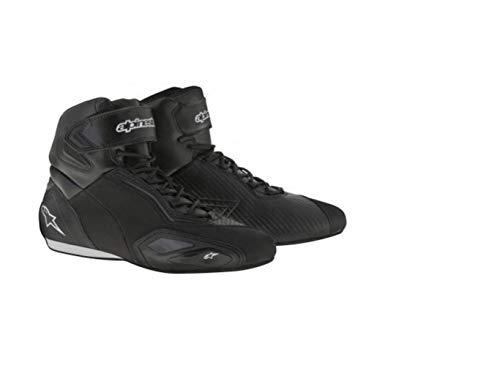 Alpinestars Faster 2 - Botas de Motociclismo para Hombre (Microfibra), Color Negro