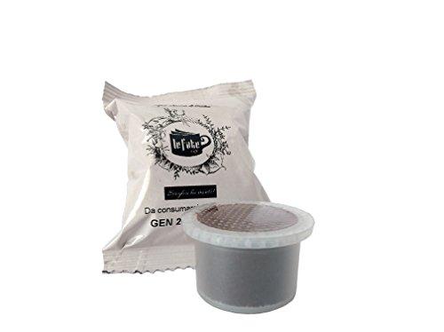 """Le Fate Cafè - Box 50 capsule cialde caffè compatibili """"Uno Capsule System"""" e """"Espresso Cap"""" - 80% Robusta"""
