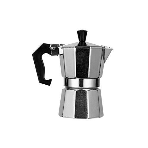 MOVKZACV Mocha Pot, 3/6/9/12 Tazas Aluminio Tipo Italiano Moka Pot Espresso Cafetera Estufa Uso Oficina Estufa Regalo Cocina Hogar