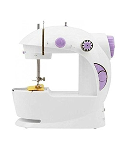 ISABELLA Multi Electric Mini 4 in 1 Desktop Functional Household Sewing Machine for Home,Mini Sewing Machine, Mini Sewing Machine for Home,Sewing Machine for Home Tailoring,Sewing Machine for Hand use