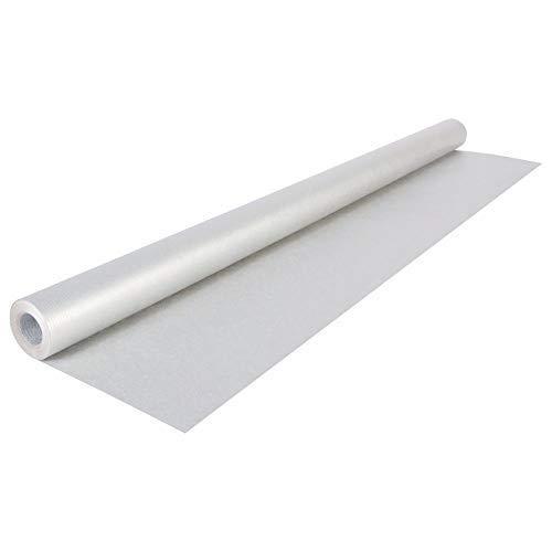 Clairefontaine 195732C Rolle (färbiges Kraftpapier, 10 x 0,7 m, 65 g, PEFC, ideal für Ihre Bastelprojekte) 1 Stück grau
