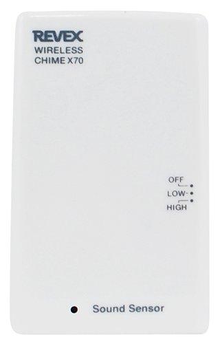 リーベックス(Revex) ワイヤレス チャイム Xシリーズ 送信機 防犯 介護 音 センサー X70
