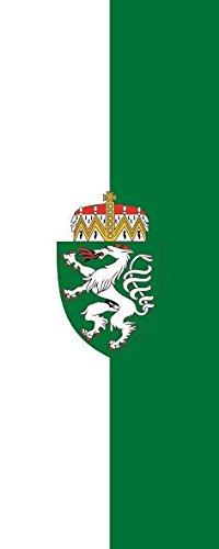 U24 Fahne Flagge Steiermark im Hochformat Premiumqualität 80 x 200 cm