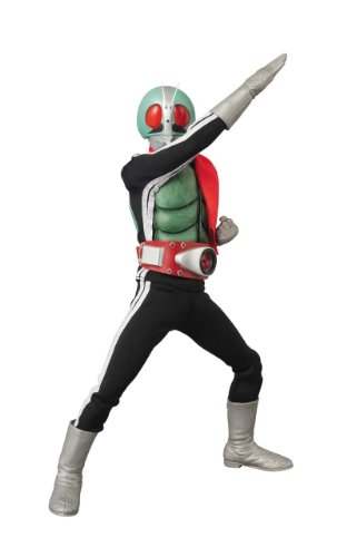 Medicom New No. 1 Real Heroes Version 2.5 Masked Rider DX Action Figure