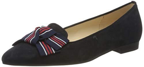 Gabor Shoes Damen Fashion Geschlossene Ballerinas, Blau (Pazifik 16), 40.5 EU