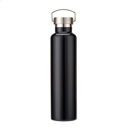 Bottiglia D'acqua Isolata Bottiglia d'acqua isolato doppia parete in acciaio inox vuoto bottiglia della prova della perdita Mantiene bevande calde e fredde adatti per lo Sport ( Capacity : 600 ml )