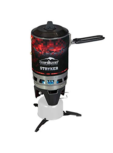 Camp Chef Mountain Series Stryker 100 Isobutane Stove, Weight: 19.4 oz.
