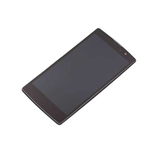 CENTAURUS Replacement for LG Volt 2, LCD Display Touch Screen Digitizer Frame Panel Assembly Part Compatible with LG Volt 2 ls751 G4c C90 H520Y H525n / Magna Y90 H500F H500R H500N H502TV T540(Black)