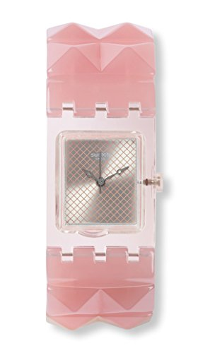 Swatch Reloj Analógico para Mujer de Cuarzo con Correa en Plstico SUBK158B