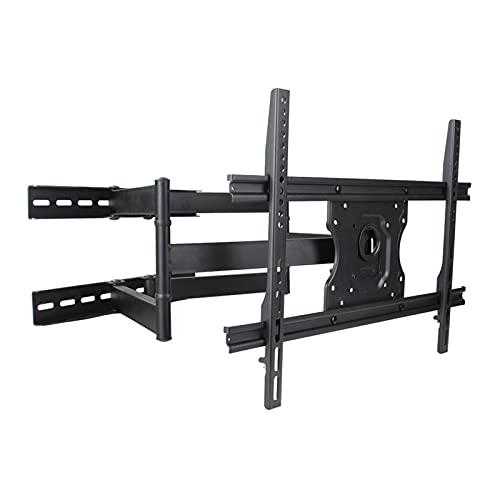 Mesas y soportes para TV Soporte de TV montado en la pared 37 '-70' Montaje de TV universal plegable plegable Swivels Tilts Extensión Rotación para máx. VESA 600x400mm AY AJEA A LAS 125 LBS Soportes d