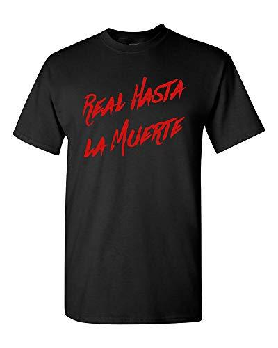 URGE Real hasta La Muerte T-Shirt Anuel AA Album T-Shirt Adult Fan Concert Size S-2XL