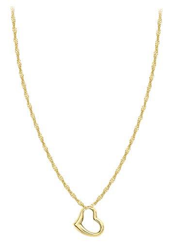 Carissima Gold Colgante de mujer con oro amarillo 9 K (375), 41 cm