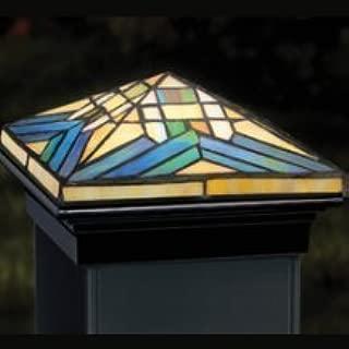 Tiffany Mission Versacap 12V Post Cap Light - Black Base