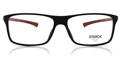 Starck Eyes Occhiali da Vista 0SH1043M Black Red 56/15/140 uomo