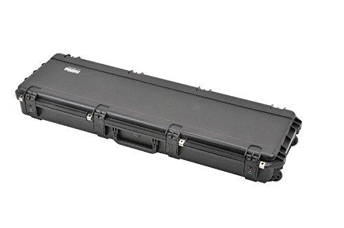 SKB Reisekoffer Schwarzer Wasserdichter Transport für Zwei Gewehre 50 Zoll lange Gemäß Militärstandard, schwarz, 128.3 x 36.8 x 15.2 cm, 3I-5014-DR