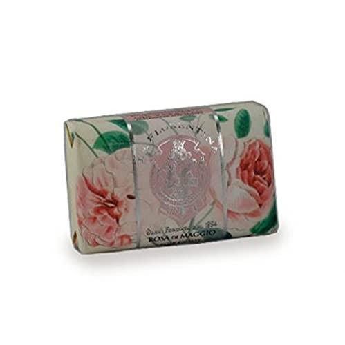 La Florentina Saponetta Incartata Rosa di Maggio - 200 g