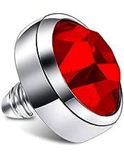 INOKI - Disco de Diamantes de imitación para microdérmica de 1,6 mm
