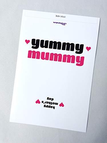 Paarse producten Yummy Mummy, Moederdag Galaxy Chocolade WRAPPER Gift. Alleen wikkelaar. Lees de beschrijving.