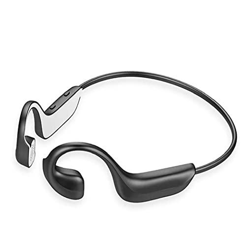 Auricular de la conducción ósea Auriculares Inalámbricos Bluetooth Auriculares 5.0 Aurope Auriculares al aire libre Auriculares deportivos para correr Ciclismo Negro