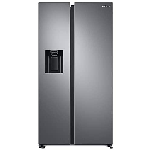 Samsung RS68A8821S9/EF Frigorifero Side by Side Senza Allaccio Idrico, 409 Litri Frigorifero, 225 Litri Congelatore, 351 kWh/Anno