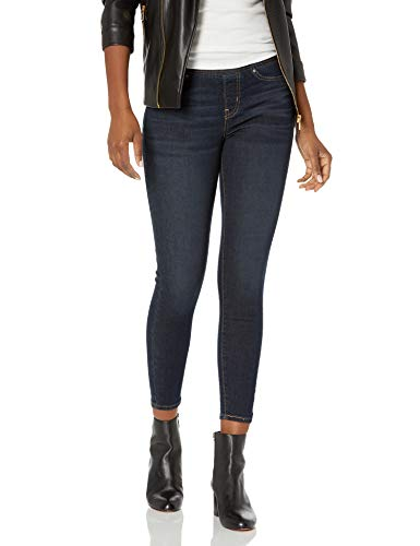 Signature by Levi Strauss & Co. Gold Label Women's Totally Shaping Pull-On Skinny Jeans, Stormy Sky, 16