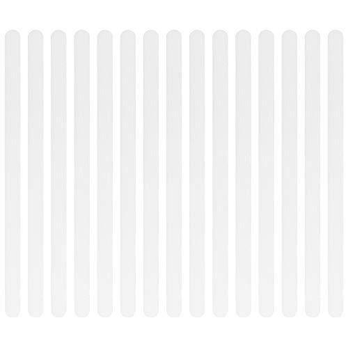 Anti-Slip Strips Set of 24 Stück, Shower and Bath Mat, Non-Slip Stickers,Anti-Rutsch für Badewanne & Dusche - Rutsch-Schutz Transparent & Selbstklebend, Transparent, Selbstklebend, Rutsch-Schutz
