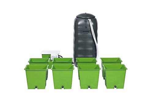 The Green Man System - Kit de Cultivo hidropónico para 8 ollas, para inundar y drenar
