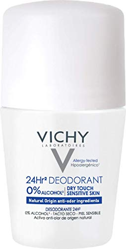 Vichy Desodorante Roll-On sin Sales de Aluminio 24 H - 50 gr