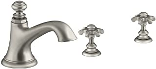 KOHLER Artifacts Bell Spout with Prong Handles - Vibrant Brushed Nickel