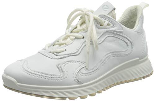 ECCO ST.1, Zapatillas Mujer, Blanco Brillante, 39 EU
