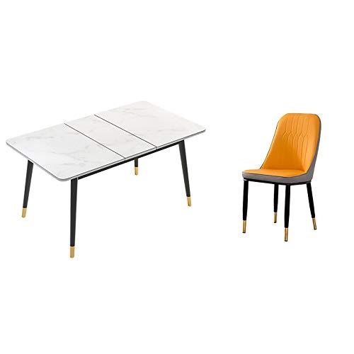 GIAOGIAO Tavolo da Pranzo Pieghevole , Tavolo da Pranzo in Vetro temperato , Tavolo da Pranzo Pieghevole per Appartamento Piccolo Multifunzionale Semplice Piccolo Nordico Semplice