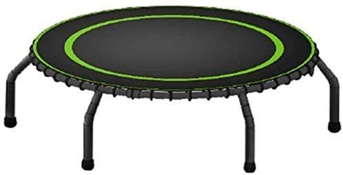 Folding 44 Inches Trampoline Fitness Portable Silent Bounce Cardio Workout Indoor Outdoor– Fun For Adults Kids(Rebounder Trampoline) Fitness Trampoline