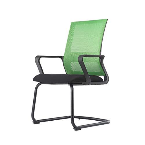 Comif-Chaise de bureau Ergonomique, Confortable Chaise à Arc, Fatigue réduite, Forte capacité de Charge, Facile à Installer, Tissu en Mesh Respirant, Durable (Noir, Orange, Jaune, Vert)