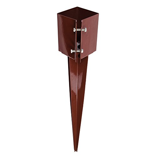 Fixman 764981 Drive-In Clamping Fence Post Anchor 100 x 100 x 750mm