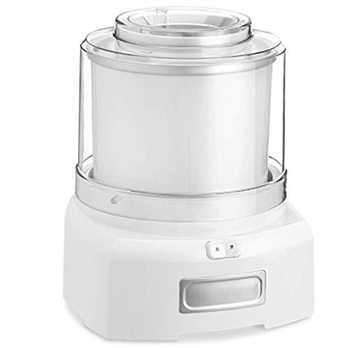 LIANGANAN Gefrorener Joghurt-EIS-Maschine, 1,5 l Haus EIS Maschine, geeignet for den Heimgebrauch, Milch Teeladen verwendungs 3,5 kg (weiß) zhuang94